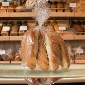 Bruin broodje bakkerij alsady